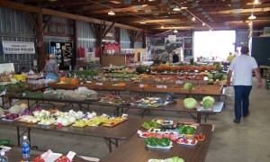 Local Produce at Waushara County Fair