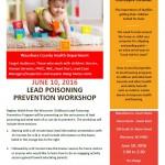 Lead Poisoning Workshop