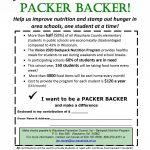 YOU CAN BE A PACKER BACKER flyer-Waushara Co Employees